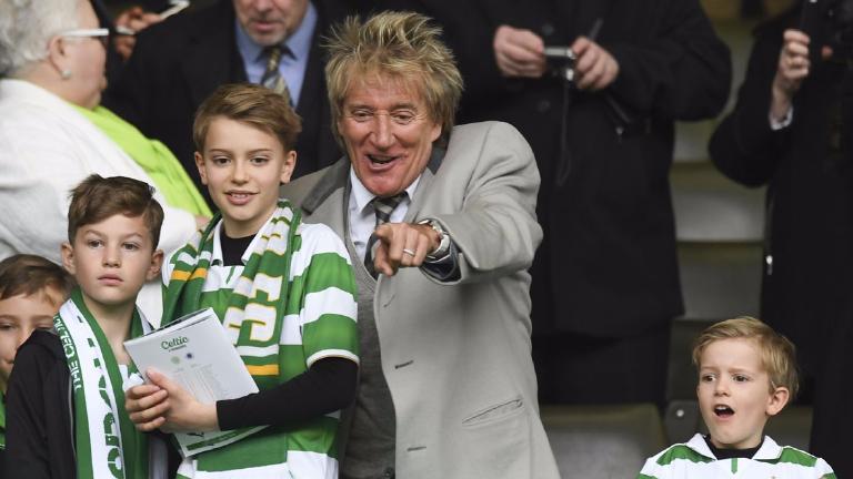 Rod Stewart to headline Celtic's Lisbon Lions live event