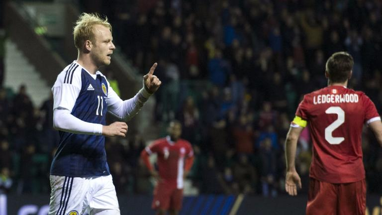 Scotland 1-1 Canada: Naismith scores in Slovenia warm-up