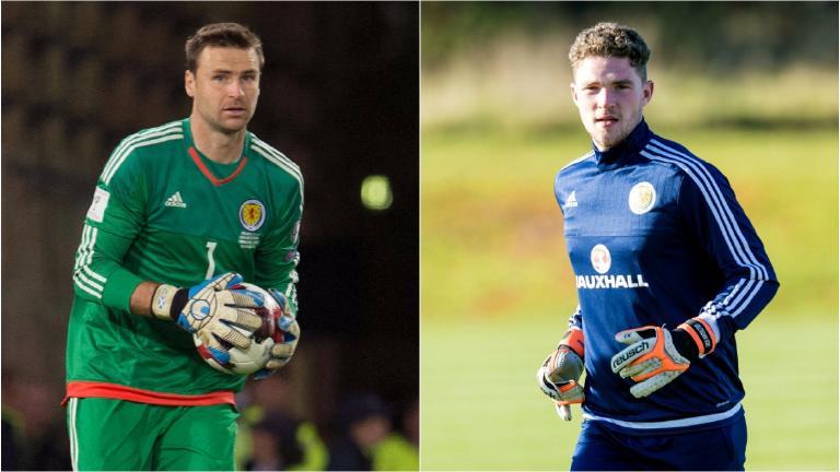 Jack Hamilton replaces David Marshall in Scotland squad