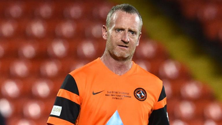 Dave Bowman features as Dundee Utd trialist at age 53
