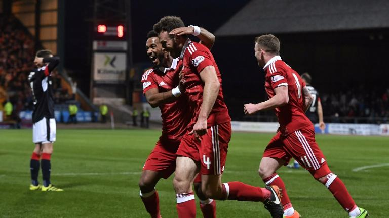 Dundee 0-7 Aberdeen: Considine hits hat-trick in rout