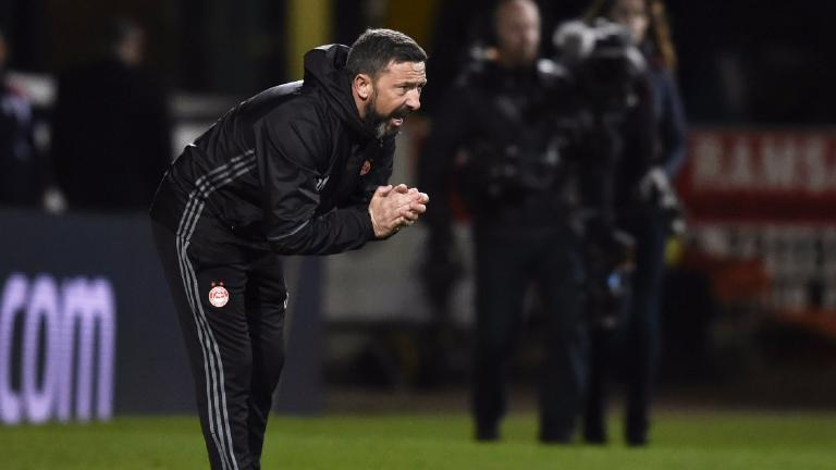 Derek McInnes delighted with Aberdeen's 'perfect night'