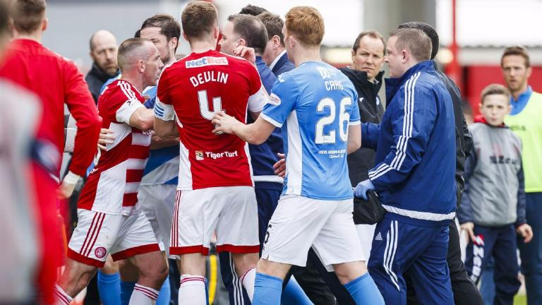 St Johnstone hit players with maximum fine over brawl