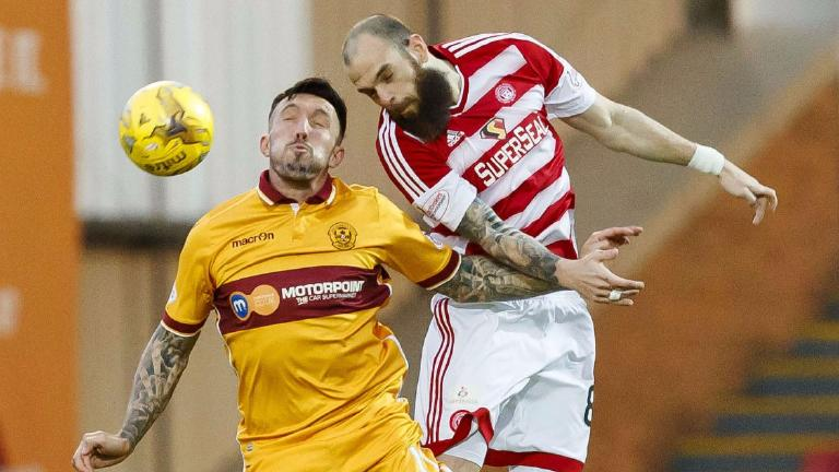 Motherwell 0-0 Hamilton: 10-man Accies held in derby