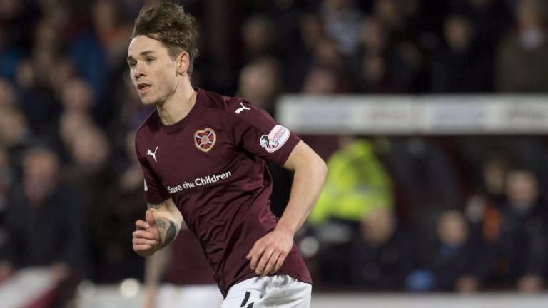 Hearts' Sam Nicholson won't appeal red card for spitting