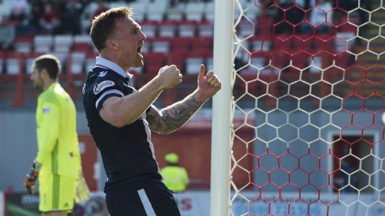 Hamilton 1-1 Ross County: 10-man Accies lose early lead