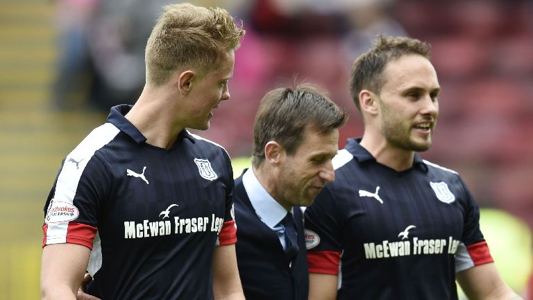 Upbeat Dundee players can beat the drop, says McCann