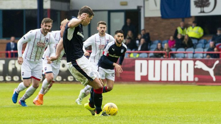 Watch Dundee fight back to draw 1-1 with Ross County