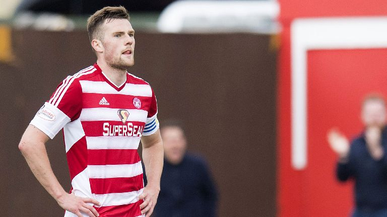Aberdeen complete signing of Hamilton's Michael Devlin