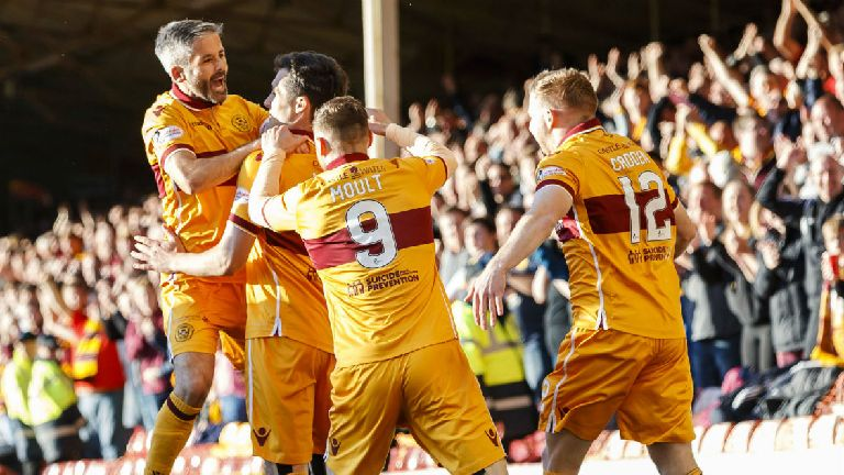 Motherwell 3-1 Kilmarnock: Well secure Premiership safety