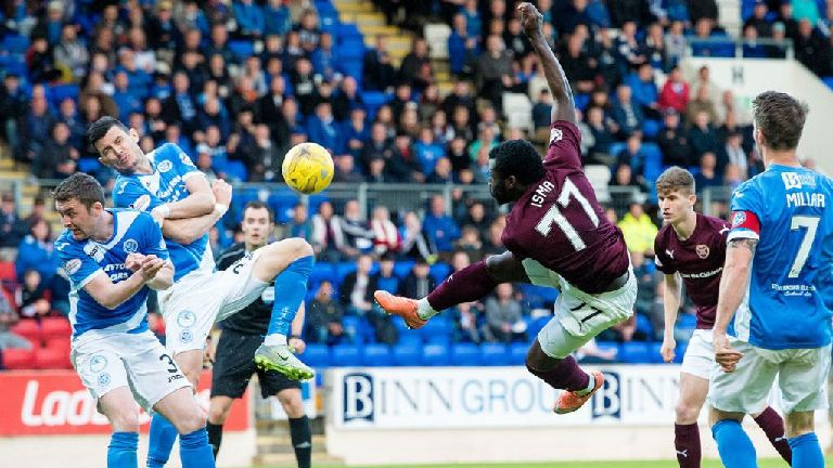 Watch highlights of St Johnstone's 1-0 win over Hearts