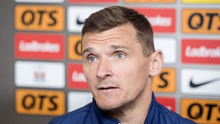 Lee McCulloch waiting for call over Kilmarnock job
