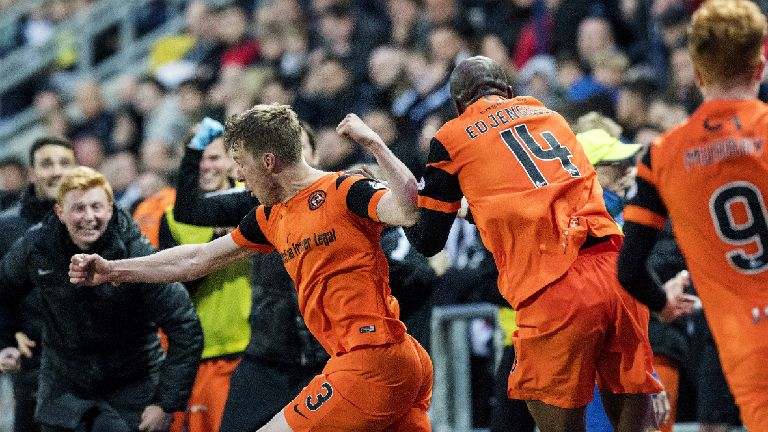 Falkirk 1-2 Dundee United: Late drama puts United in final
