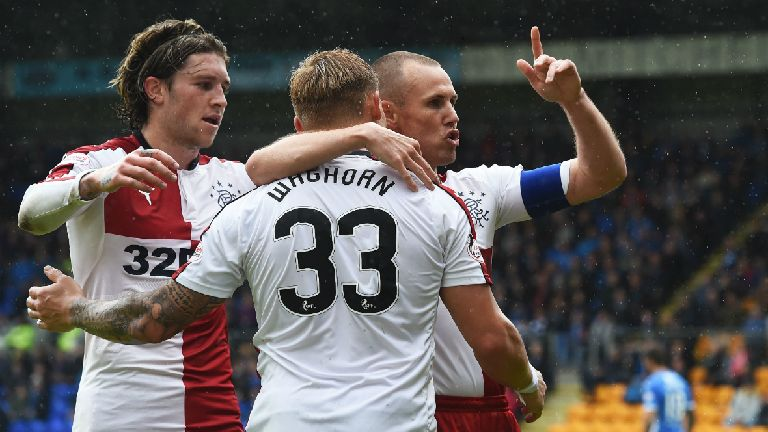 See Rangers close campaign with 2-1 win over St Johnstone