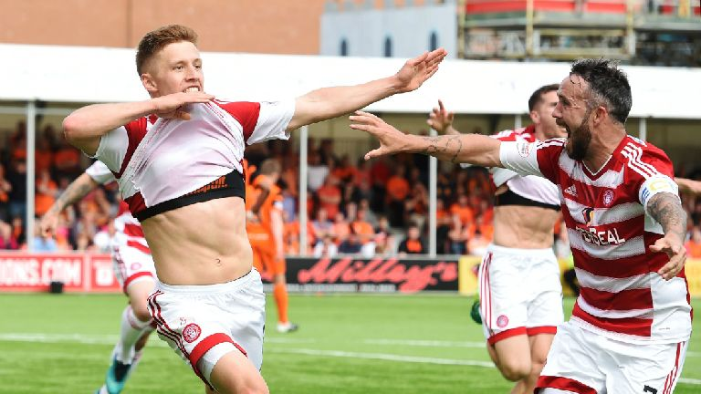 Hamilton stay up with play-off win over Dundee United
