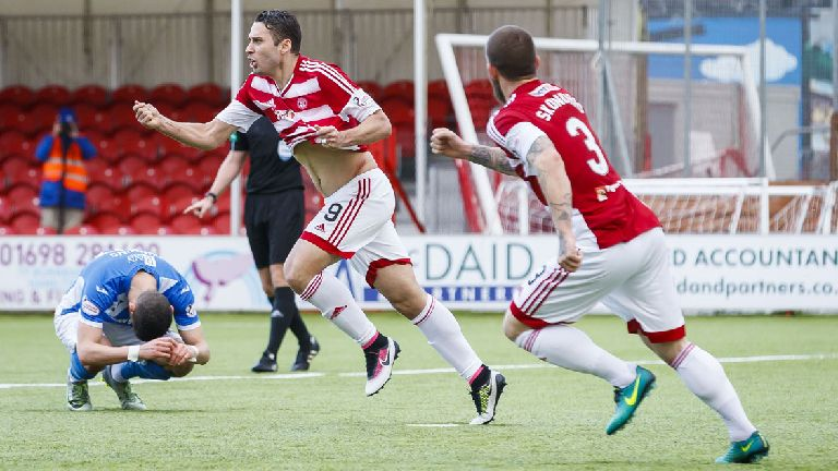 Alex D'Acol and Ioannis Skondras depart Hamilton Accies