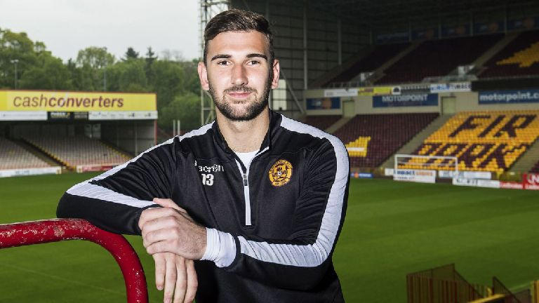 Motherwell sign Russell Griffiths on permanent deal