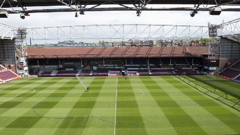 Hearts to rearrange fixtures due to Tynecastle revamp
