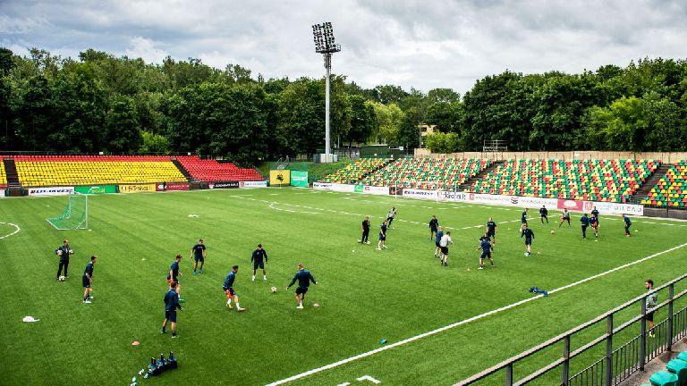 Follow updates of St Johnstone's Euro tie against Trakai