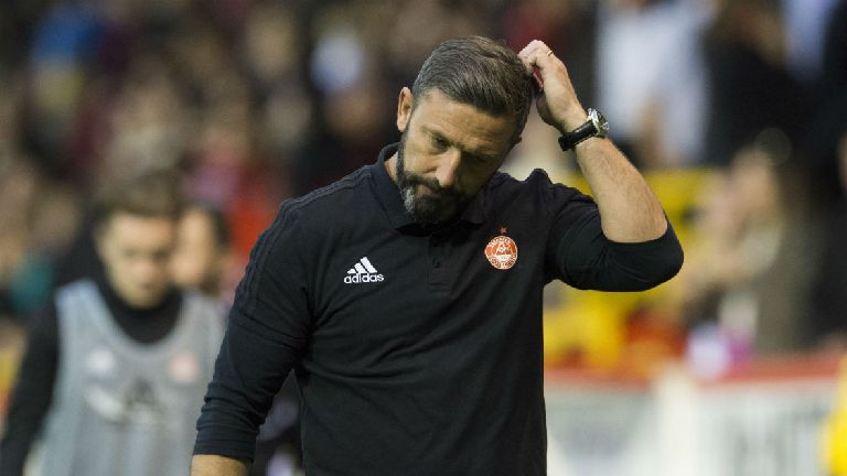 Rangers target Derek McInnes to remain as Aberdeen boss