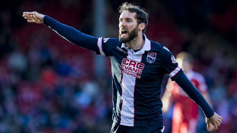 Ross County sign midfielder Jim O'Brien on two-year deal