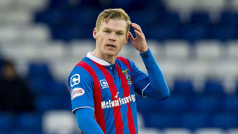 Former Inverness striker Billy McKay signs for Ross County