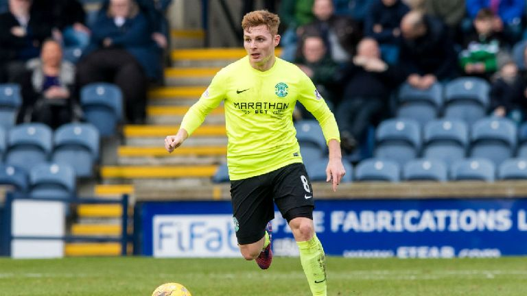 Dundee United sign former Hibs midfielder Fraser Fyvie