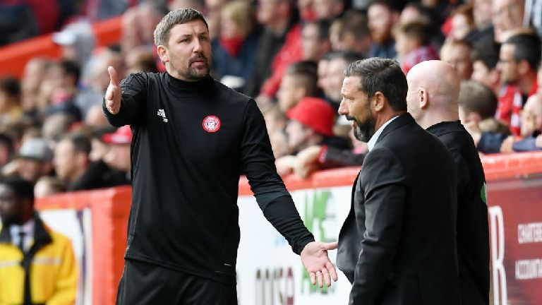 Derek McInnes: Hamilton are wrong to play the victim card