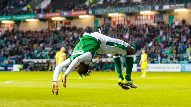 Goals galore as Celtic and Hibs reach quarter finals