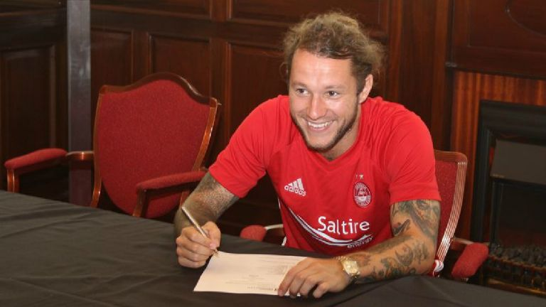 Aberdeen confirm signing of Stevie May from Preston