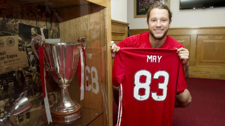 Stevie May: Why I agreed to number 83 jersey switch