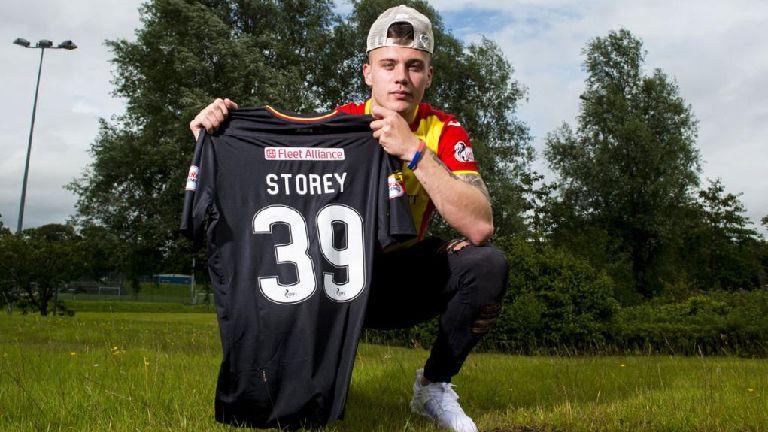 Partick striker relishing chance of regular football