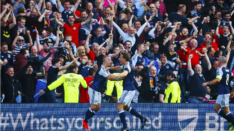 Scotland jump 15 places in FIFA rankings after two wins