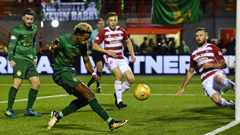 Rodgers revels in Celtic's display against Hamilton
