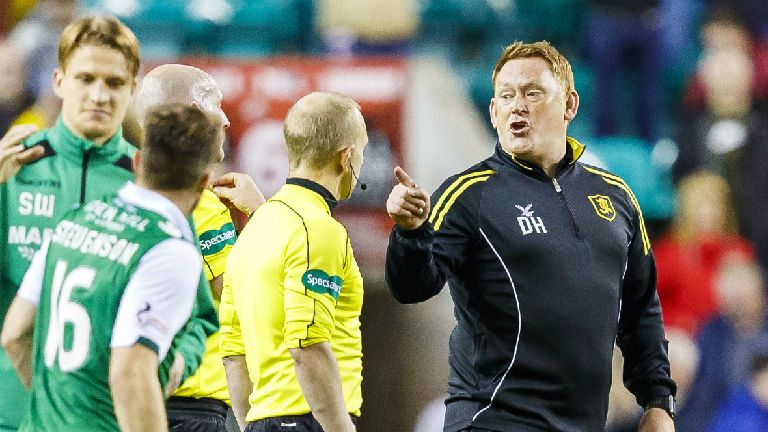 Livingston boss 'baffled' by refereeing after cup exit