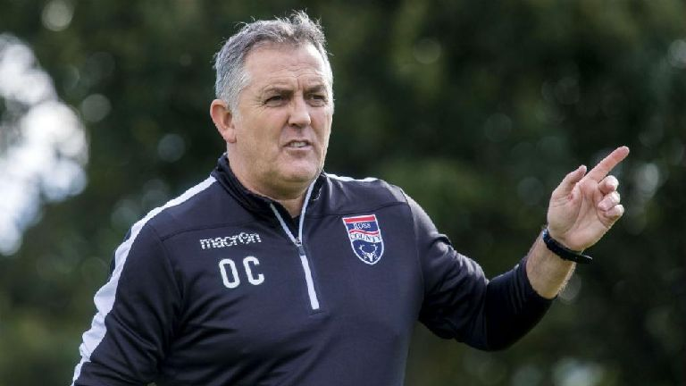 Owen Coyle: Ross County is high level managerial job