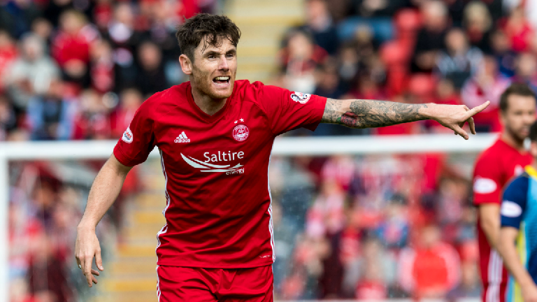 Aberdeen midfielder Greg Tansey ruled out for four weeks