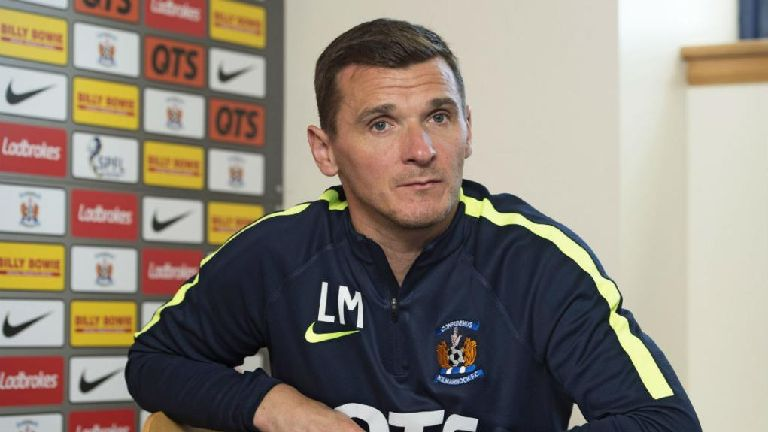 Killie boss Lee McCulloch not feeling pressure of sack