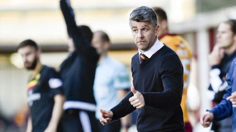 Robinson 'rattled' his Motherwell players at half time