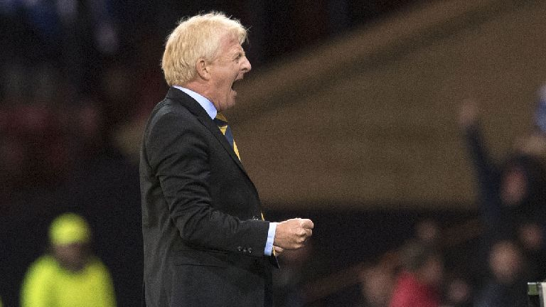 Strachan: I never doubted Scotland would beat Slovakia