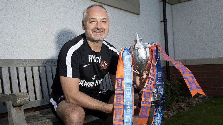 Dundee United face Crusaders in Challenge Cup last eight