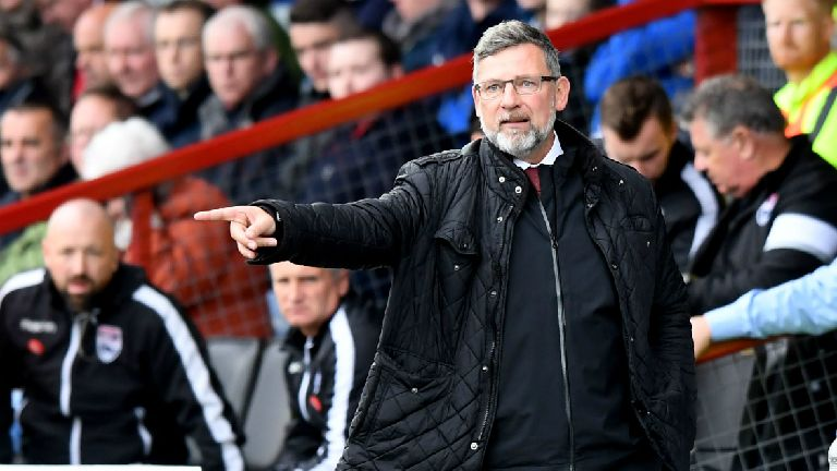 Levein: Hearts players answered my half-time question