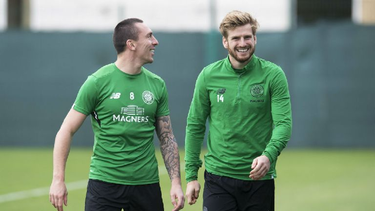 Brown and Armstrong return for Celtic's clash in Munich