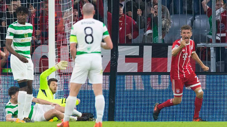 Talking points from Celtic's 3-0 loss to Bayern Munich