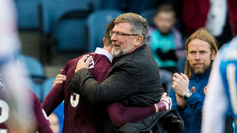 Levein encouraged by victory in the 'war of attrition'