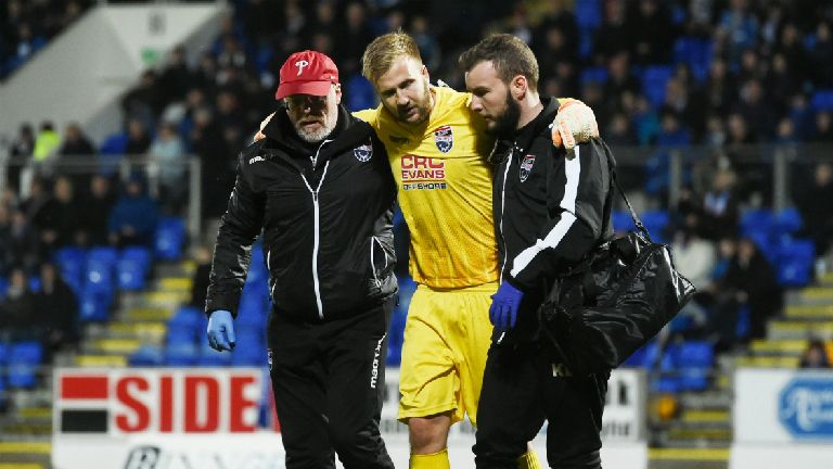 Scott Fox faces lengthy injury lay-off, says Coyle