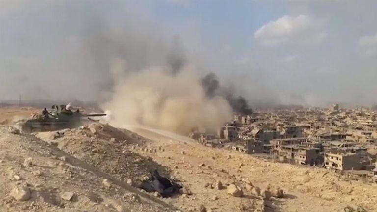 Syrian army 'liberates Deir el-Zor from Islamic State
