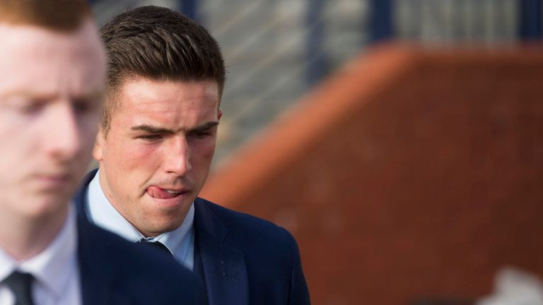 Falkirk's O'Hara gets eight match ban for abusing Shiels