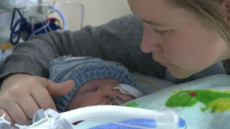 Urgent appeal for donor for baby with 'half a heart