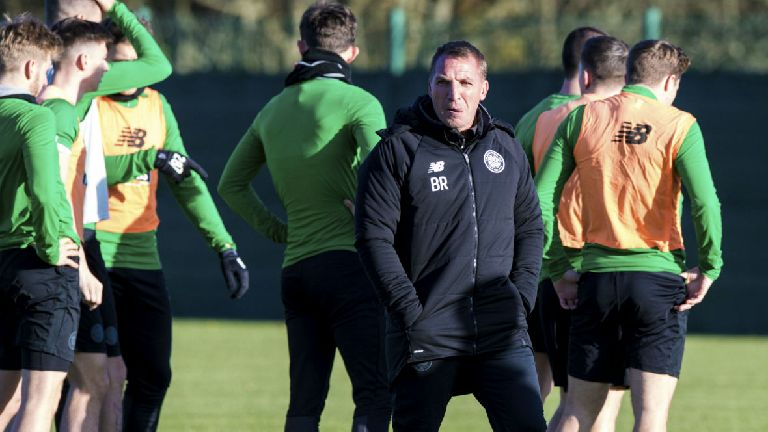 Rodgers welcomes back six Celtic players from injury